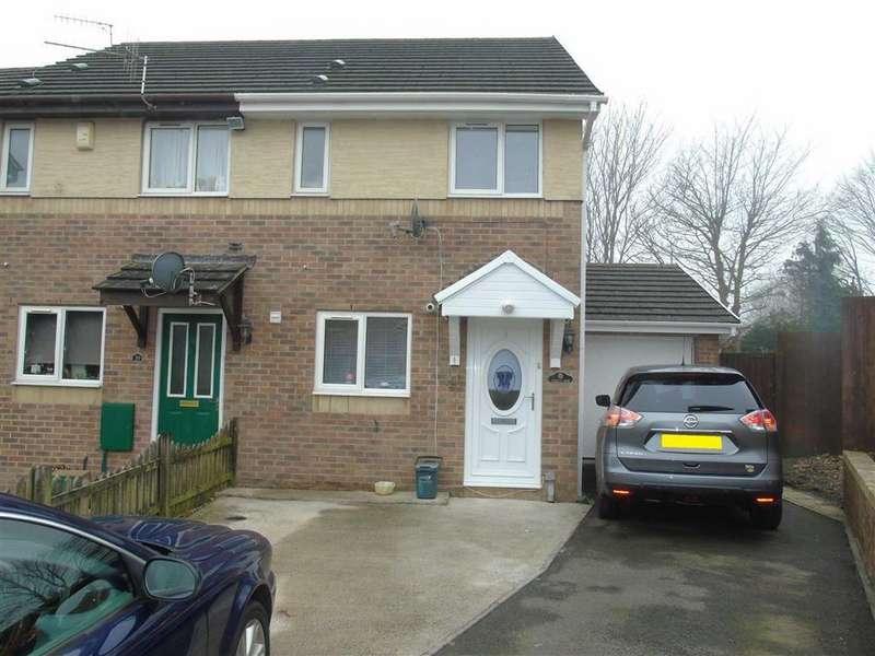 2 Bedrooms Semi Detached House for sale in Llys Cilsaig, Dafen, Llanelli