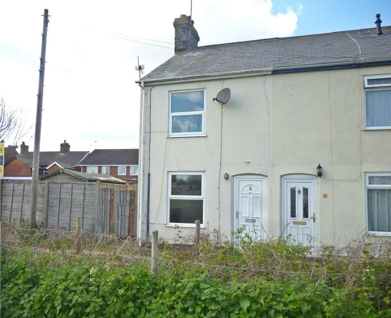 2 Bedrooms End Of Terrace House for sale in Stanley Cottages, Margaret Street, Felixstowe IP11