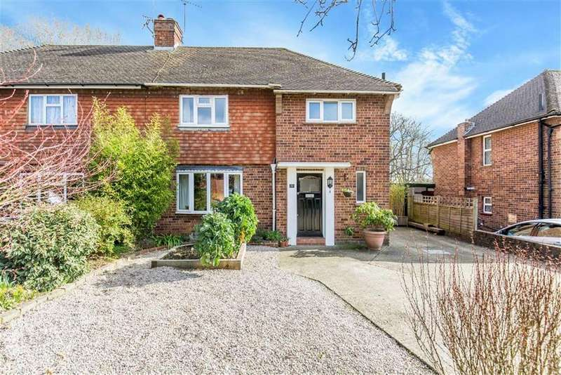 3 Bedrooms Semi Detached House for sale in Chestnut Copse, Hurst Green, Surrey