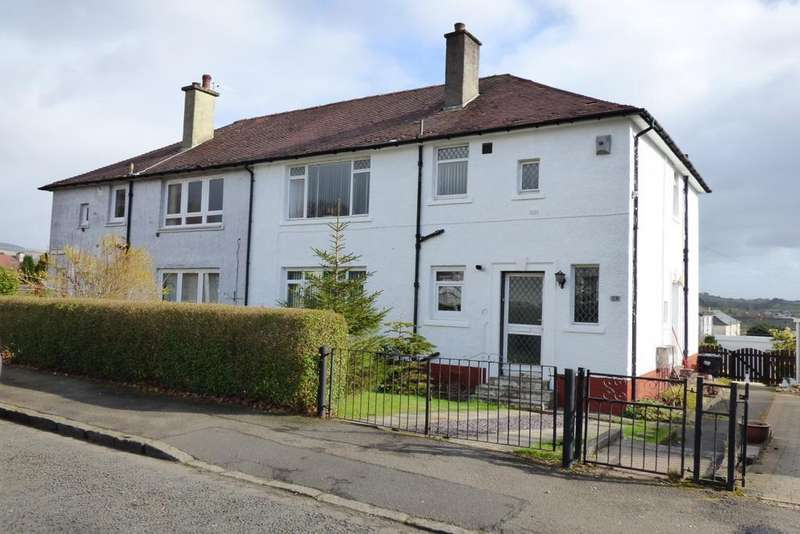 2 Bedrooms Flat for sale in 28 Beech Drive, Parkhall, G81 3QD