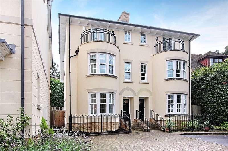 3 Bedrooms Semi Detached House for sale in Montacute Mews, Tunbridge Wells, Kent, TN2