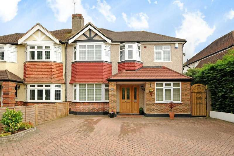 4 Bedrooms Semi Detached House for sale in The Avenue, West Wickham, BR4