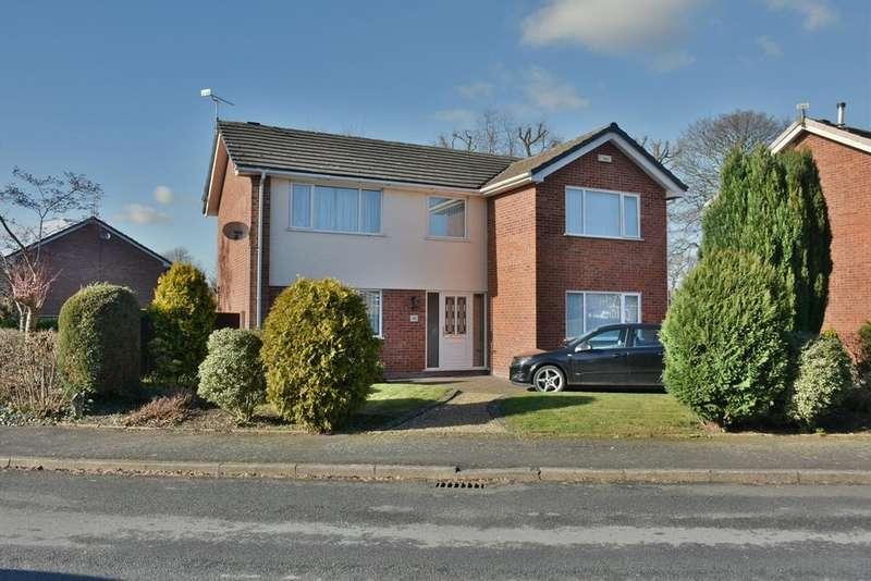 4 Bedrooms Detached House for sale in Landswood Park, NOrthwich