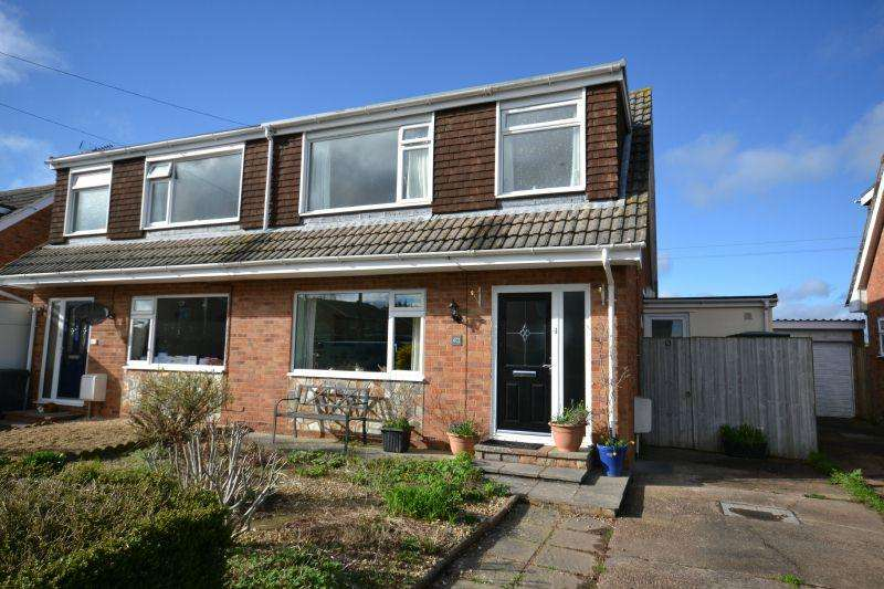 3 Bedrooms Semi Detached House for sale in LINCOLN CLOSE, FENITON