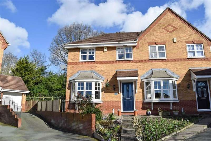 3 Bedrooms Semi Detached House for sale in Shakespeare Close