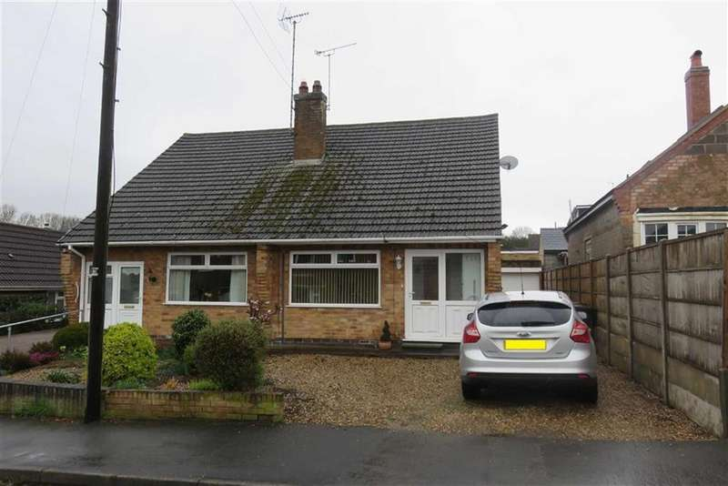 2 Bedrooms Semi Detached Bungalow for sale in Lena Drive, Groby