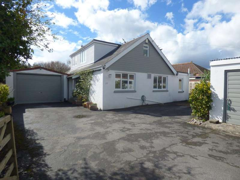 4 Bedrooms Detached Bungalow for sale in Chudleigh Road, Kingsteignton, TQ12 3JS