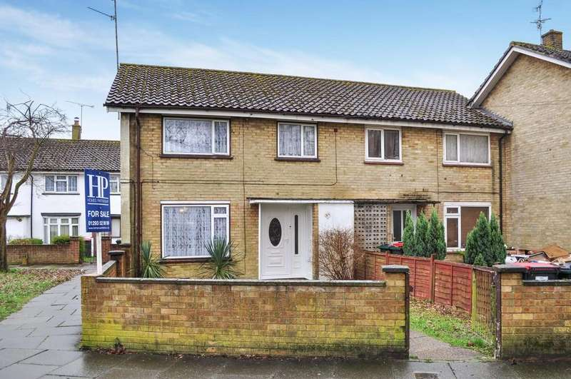 3 Bedrooms End Of Terrace House for sale in Johnson Walk, Tilgate