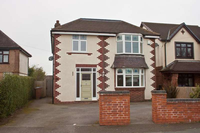 4 Bedrooms Detached House for sale in Springhill Road, Burntwood