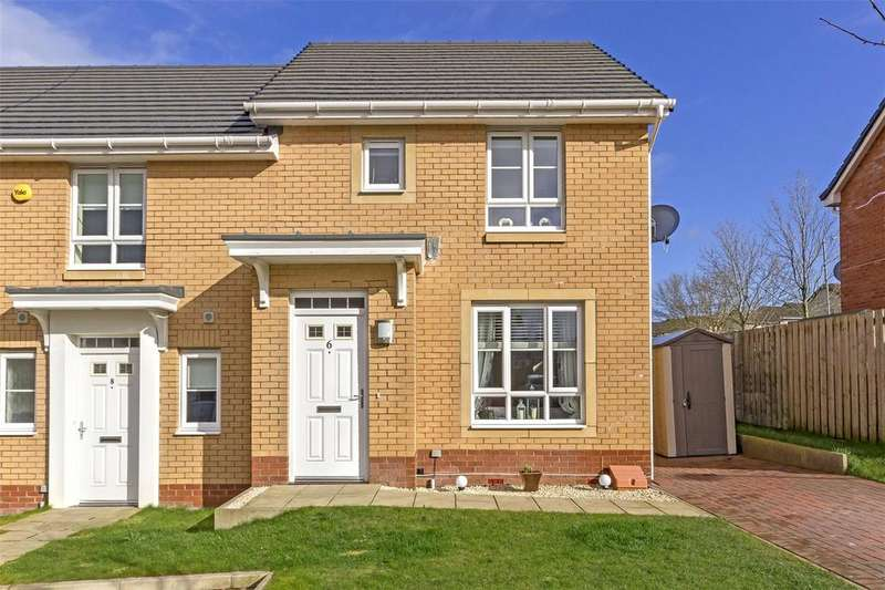 2 Bedrooms End Of Terrace House for sale in 6 Arthur Walk, Cambuslang, Glasgow, G72