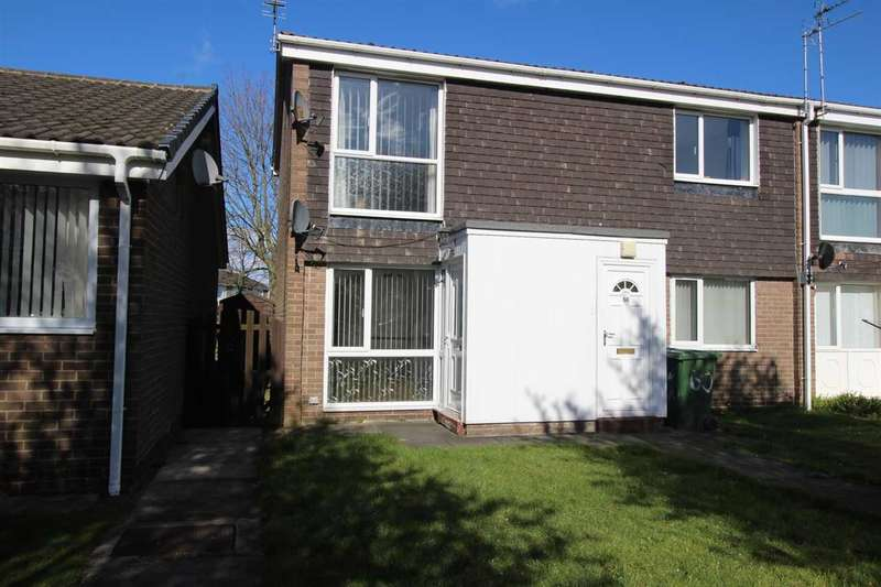 2 Bedrooms Flat for sale in Windermere Close, Southfield Lea, Cramlington