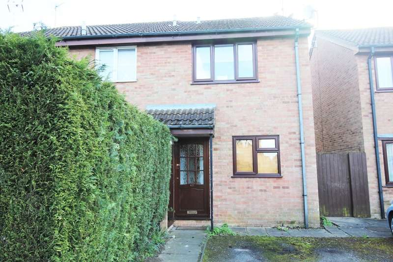 2 Bedrooms Semi Detached House for sale in Somerville, Werrington, Peterborough PE4 5BB