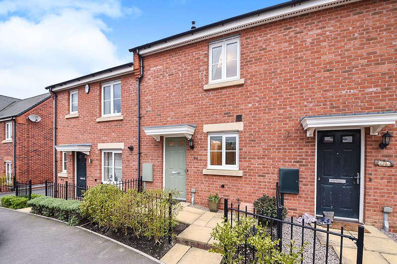 2 Bedrooms Property for sale in Salford Way, Church Gresley, Swadlincote, DE11