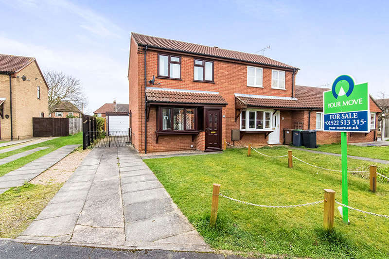 2 Bedrooms Semi Detached House for sale in Fernleigh Avenue, Bracebridge Heath, Lincoln, LN4