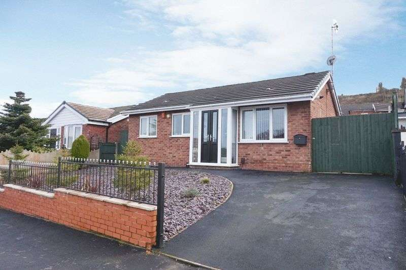 2 Bedrooms Detached Bungalow for sale in Nursery Avenue, Stockton Brook, Stoke-On-Trent, ST9 9NY