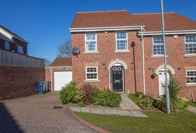 3 Bedrooms Semi Detached House for sale in Dockendale Place, Blaydon