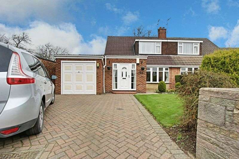 3 Bedrooms Semi Detached Bungalow for sale in Lawson Avenue, Cottingham