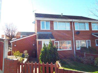 3 Bedrooms Semi Detached House for sale in Sycamore Drive, Leeswood, Mold, Flintshire, CH7