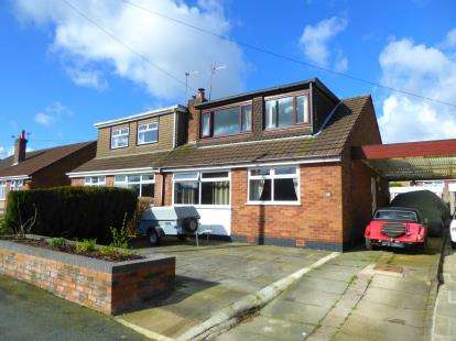 3 Bedrooms Bungalow for sale in Astley Close, Warrington, Cheshire