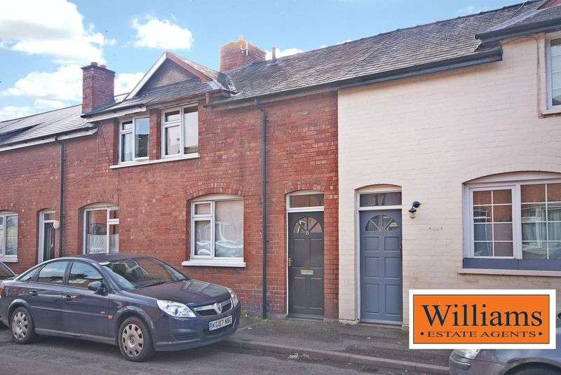 2 Bedrooms Terraced House for sale in Off Edgar Street, Hereford