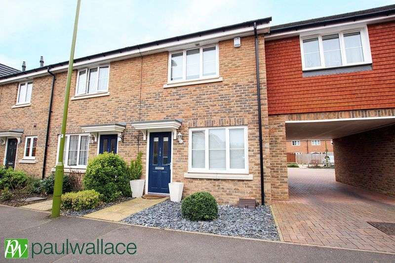 2 Bedrooms Terraced House for sale in Aldermere Avenue, West Cheshunt