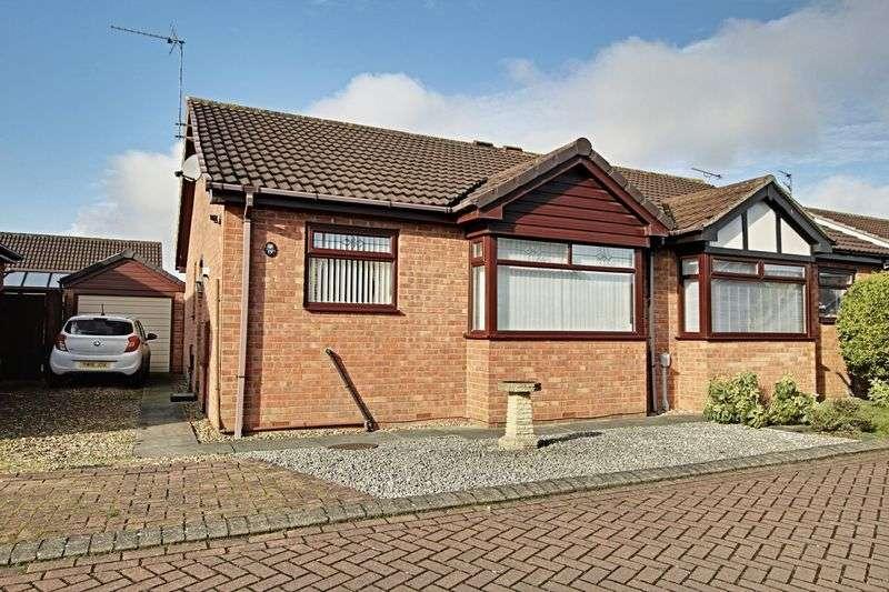 2 Bedrooms Semi Detached Bungalow for sale in Hunter Close, Preston