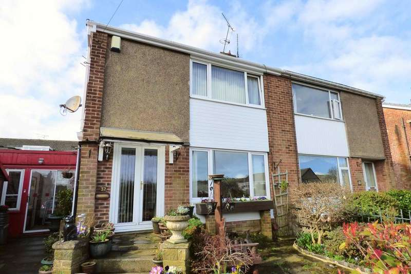 3 Bedrooms Semi Detached House for sale in Valley Way, Halifax HX2