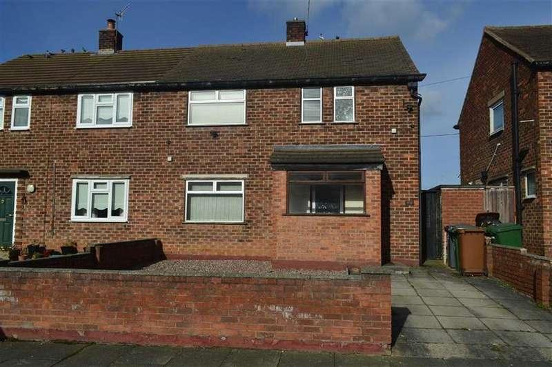 3 Bedrooms Semi Detached House for sale in Prenton Dell Road, Prenton, CH43