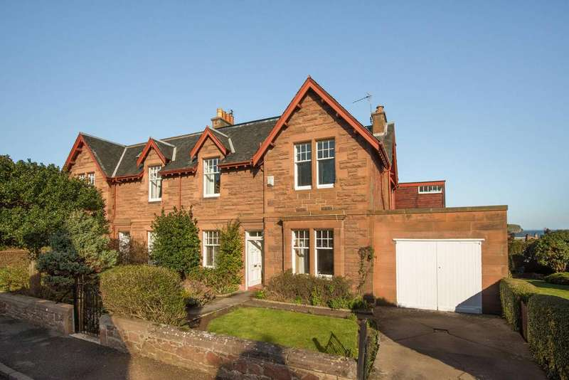 4 Bedrooms Semi Detached House for sale in 14 Marmion Road, North Berwick, EH39 4PG