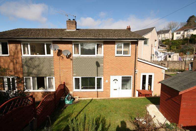 3 Bedrooms Semi Detached House for sale in Highfield Close, Risca, Newport, Newport. NP11 6EZ