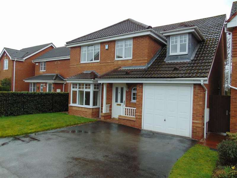 5 Bedrooms Detached House for sale in Brook Lane, Walsall Wood