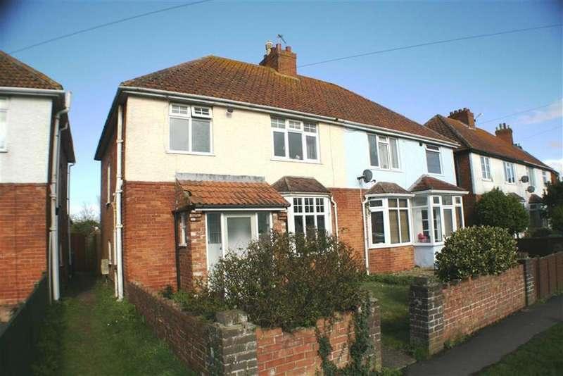 3 Bedrooms Semi Detached House for sale in Berrow Road, Burnham On Sea