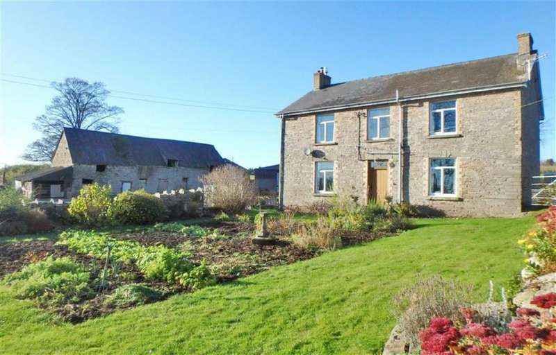 4 Bedrooms Detached House for sale in Llowes, Nr Hay-on-Wye, Herefordshire