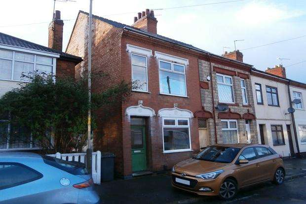 2 Bedrooms Terraced House for sale in Ireton Road, off Gipsy Lane, Leicester, LE4