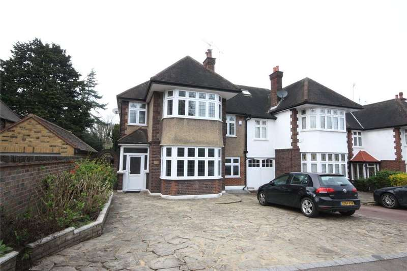 4 Bedrooms Semi Detached House for sale in Bush Hill, Winchmore Hill, London, N21