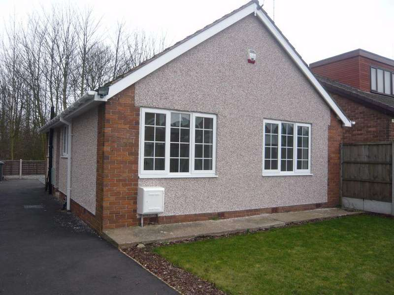 2 Bedrooms Detached Bungalow for sale in Dale Close, Langwith, Nottinghamshire, NG20