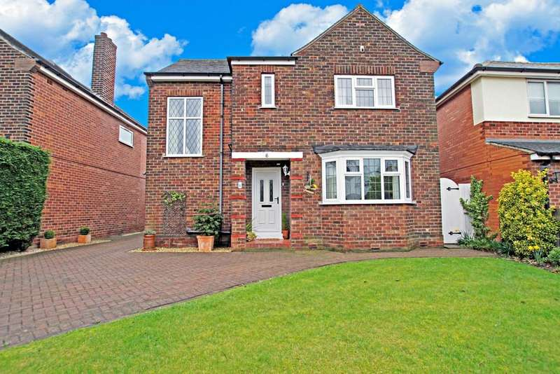 4 Bedrooms Detached House for sale in Ellers Drive, Bessacarr, DN4 7DL