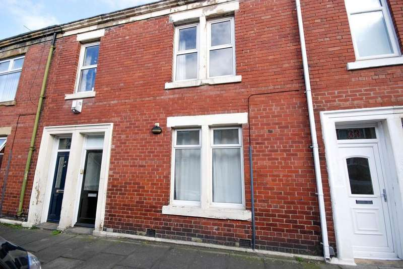 2 Bedrooms Flat for sale in Northbourne Road, Jarrow