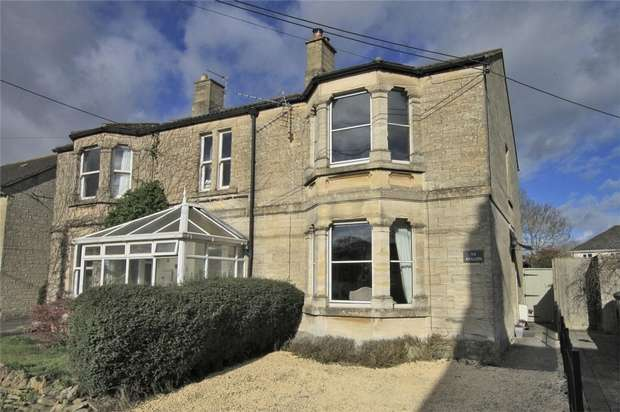 3 Bedrooms Semi Detached House for sale in Avalon, 54 Leigh Road, Holt, Wiltshire