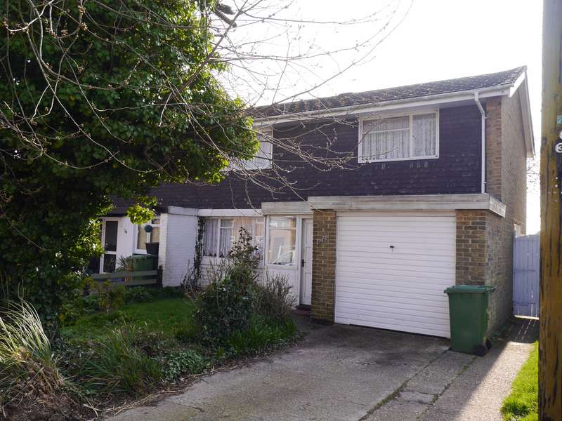 3 Bedrooms Semi Detached House for sale in Round Hill Close, Townhill Park
