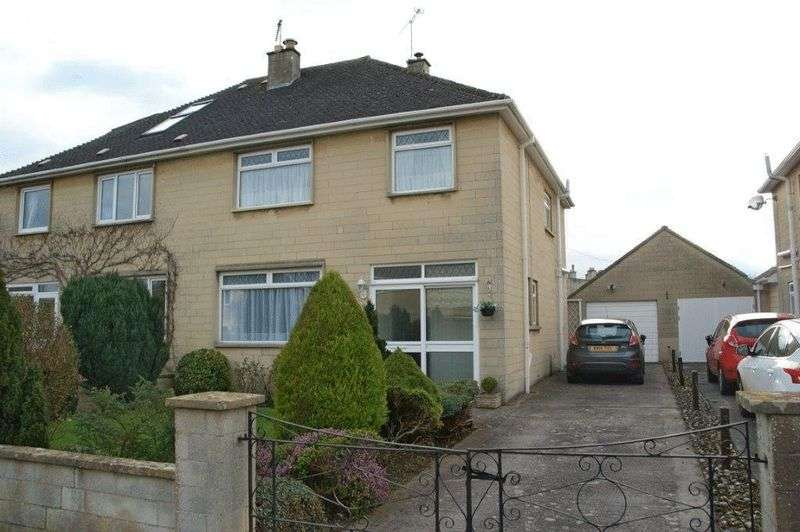 3 Bedrooms Semi Detached House for sale in Partis Way, Bath