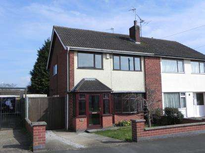 3 Bedrooms Semi Detached House for sale in Suffolk Close, Wigston, Leicestershire