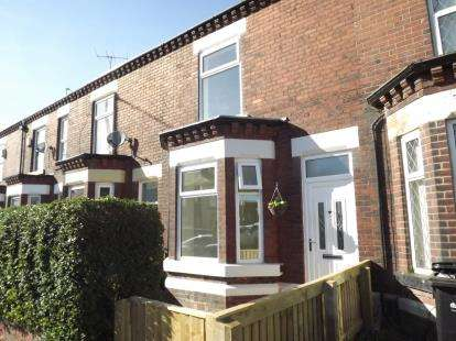 2 Bedrooms Terraced House for sale in Stockport Road West, Bredbury, Stockport, Greater Manchester