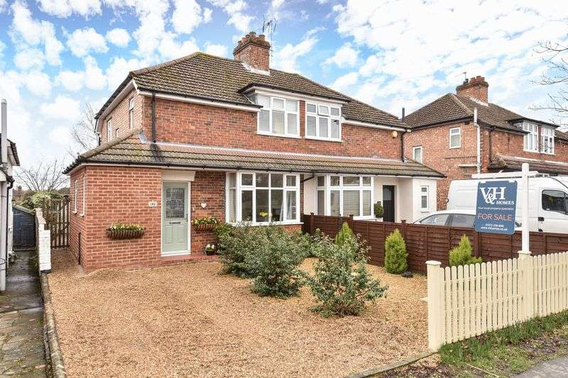 3 Bedrooms Semi Detached House for sale in Cobham Road, Fetcham