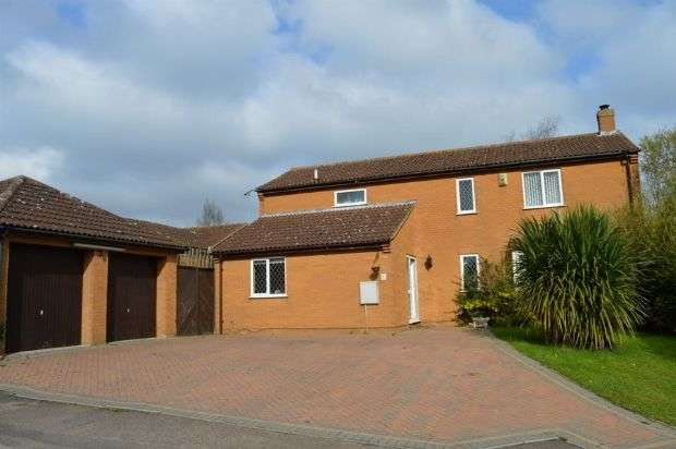 4 Bedrooms Detached House for sale in Hilberry Rise, Berrydale, Northampton NN3 5ER