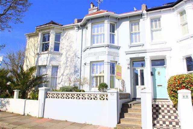 3 Bedrooms Terraced House for sale in Lucerne Road, Brighton, East Sussex, BN1 6GH