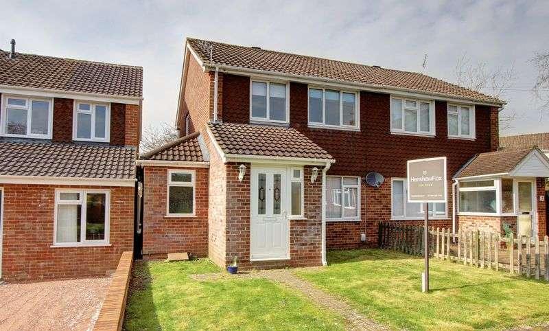3 Bedrooms Semi Detached House for sale in Addison Close, Romsey, Hampshire