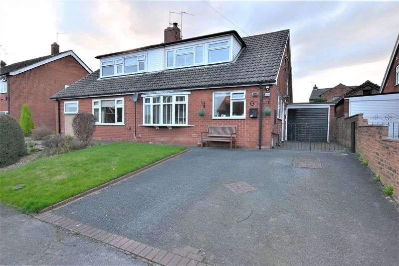 4 Bedrooms Semi Detached House for sale in Norfolk Road, Congleton, Cheshire, CW12 1PA