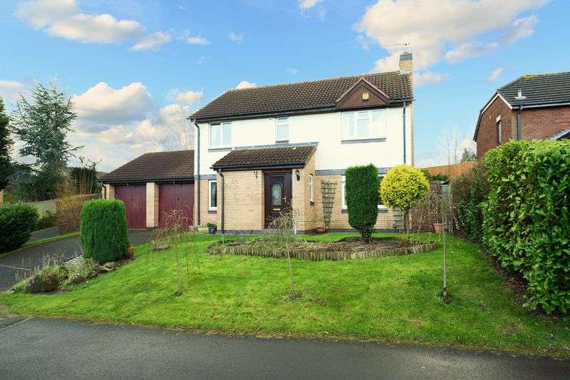 4 Bedrooms Detached House for sale in Wordsworth Way, Priorslee, Telford, Shropshire.