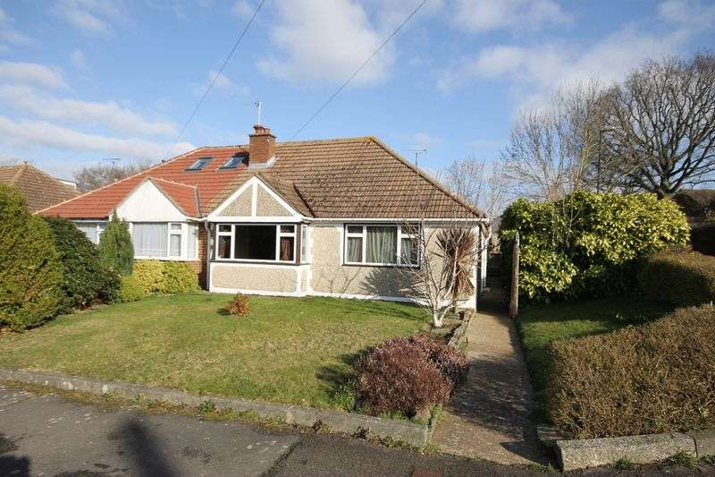 2 Bedrooms Semi Detached Bungalow for sale in Chanctonbury Road, Burgess Hill, West Sussex